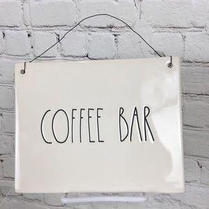 Rae Dunn COFFEE BAR sign